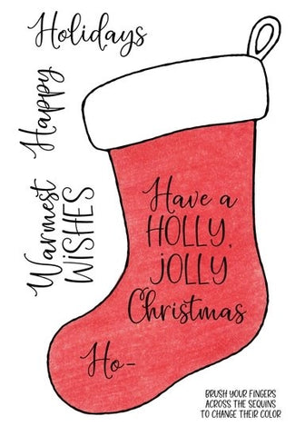 Inky Antics Christmas Stocking Stamps