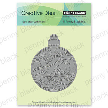 Penny Black Bird/Ornament Die