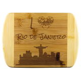 I Love Rio de Janiero Bamboo Wooden Cutting Board
