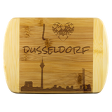 I Love Dusseldorf Bamboo Wood Cutting Board