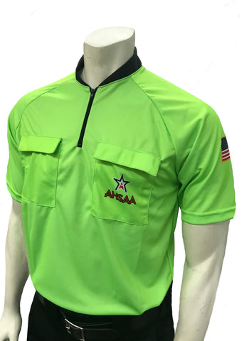 USA900AL-Dye Sub Alabama Soccer Short Sleeve Shirt Available In Orange and Green