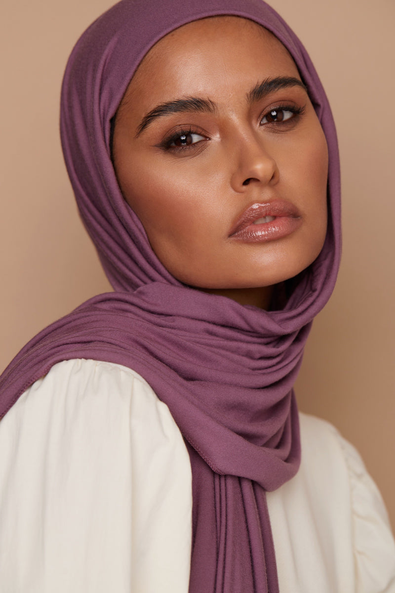 Deep Orchid Premium Jersey Hijab | VOILE CHIC | Jersey Hijab