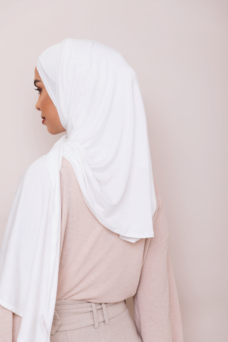 Ivory Instant Hijab | VOILE CHIC | Pre-Sewn Instant
