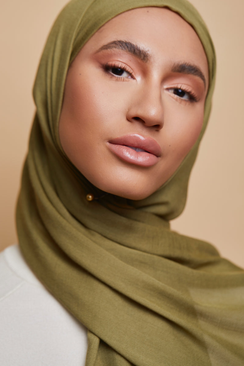 No-Snag Hijab Clip - Soft Gold