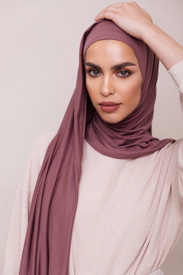 Rose Taupe Instant Hijab | VOILE CHIC | Slip On Hijab