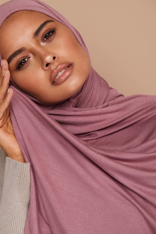 Rose Taupe Premium Jersey Hijab | VOILE CHIC | Jersey Hijab