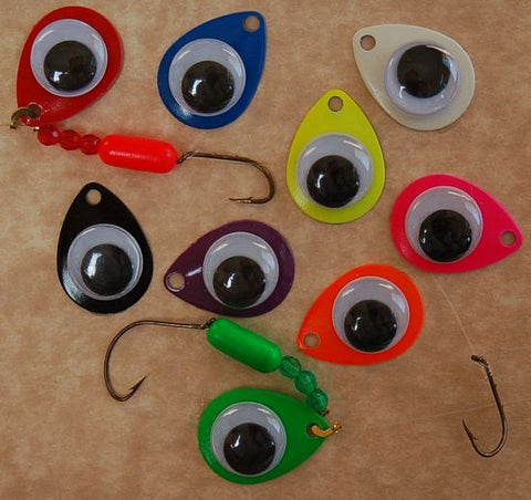 Rattln' Roll-n-Eye Spinner Rig (9-Pack)