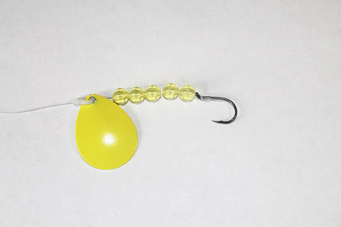 Solid Color Colorado Spinner Rig (Double Hook Option)
