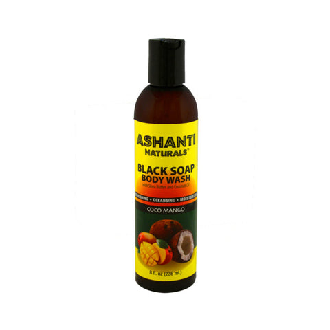 Black Soap Body Wash - Coco Mango - 8 oz.