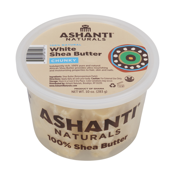 Copy of Unrefined African Chunky Shea Butter - 10 oz. White