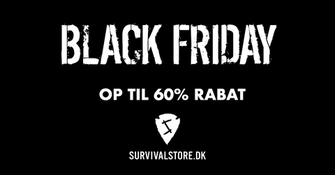 Black Friday 2018 på bushcraft og outdoorudstyr
