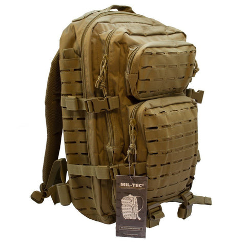 Rygsæk US Assault - Coyote brown - Large - 36 liter
