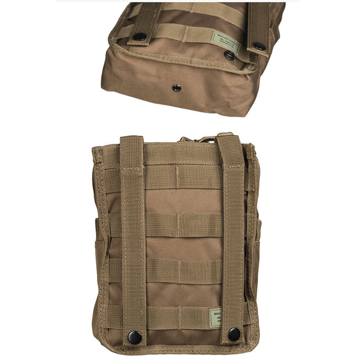 Mil-Tec Dark Coyote Molle Belt Pouch Large
