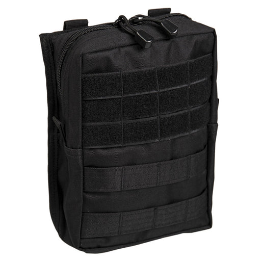 Mil-Tec Black Molle Belt Pouch Large