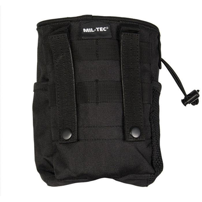 Mil-Tec Black Molle Empty Shell Pouch