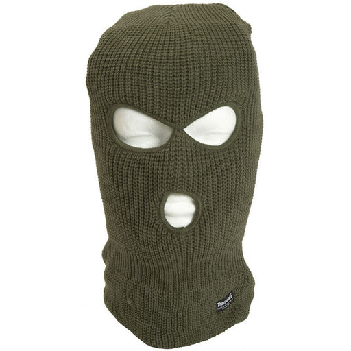 Mil-Tec 3 Huls Balaclava med Thinsulate isolering - Olive