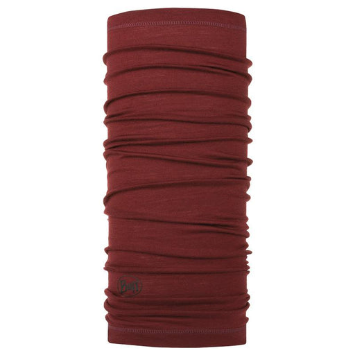 Buff Lightweight Merinould - Wine red