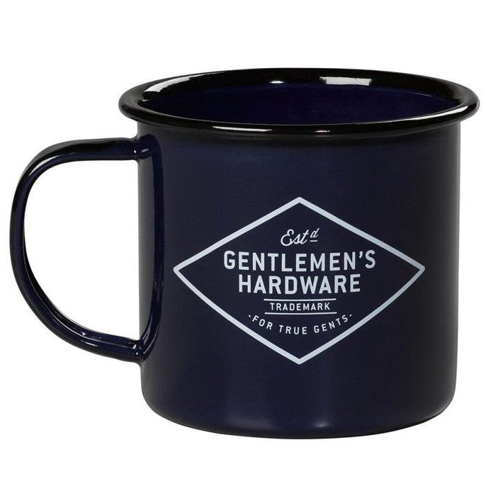 Gentlemens Hardware - Adventure blue emalje kop