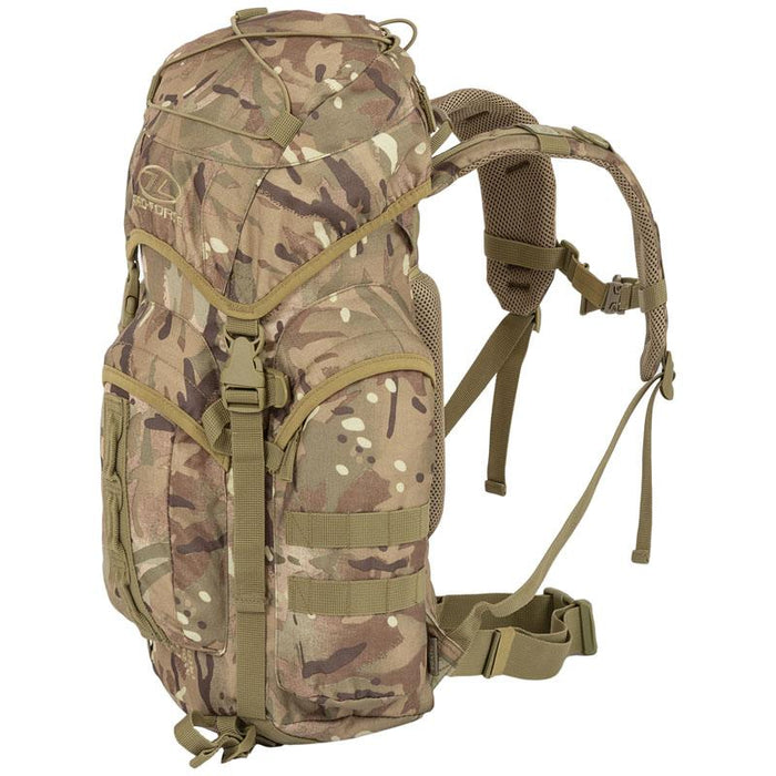 Highlander Outdoor Rygsæk - 25 liter - Forces Multicam højre side