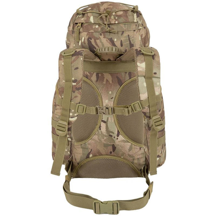 Highlander Outdoor Rygsæk - 25 liter - Forces Multicam skulderstropper