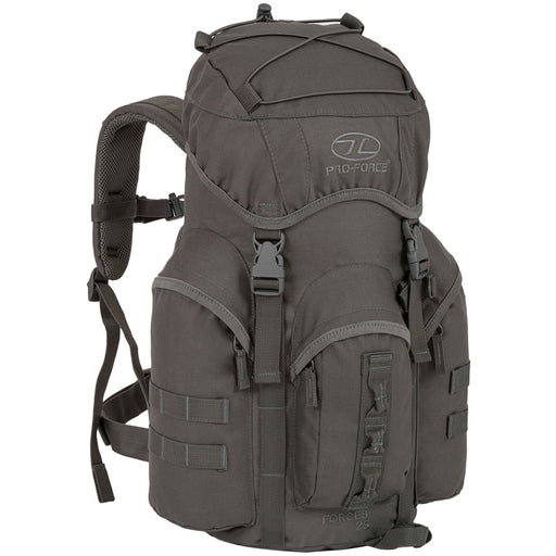 Highlander Outdoor Rygsæk - Forces 25 Liter Grey front