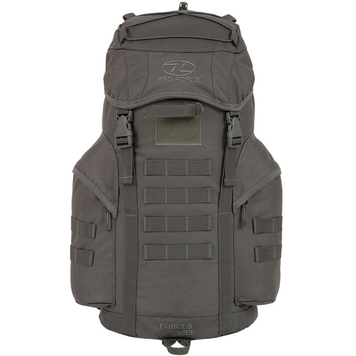 Highlander Outdoor Rygsæk - Forces 33 Liter Grey front