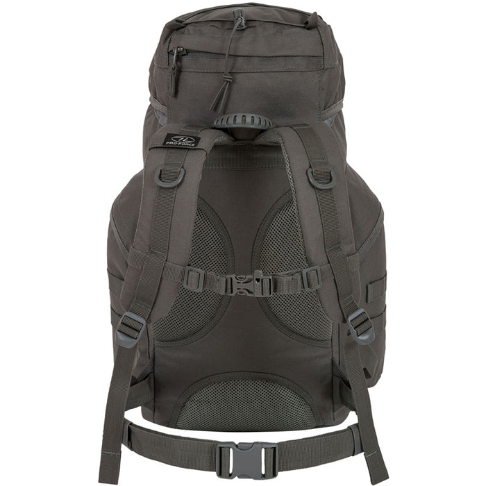 Highlander Outdoor Rygsæk - Forces 33 Liter Grey stropper