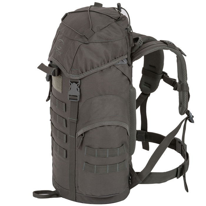 Highlander Outdoor Rygsæk - Forces 33 Liter Grey højre side