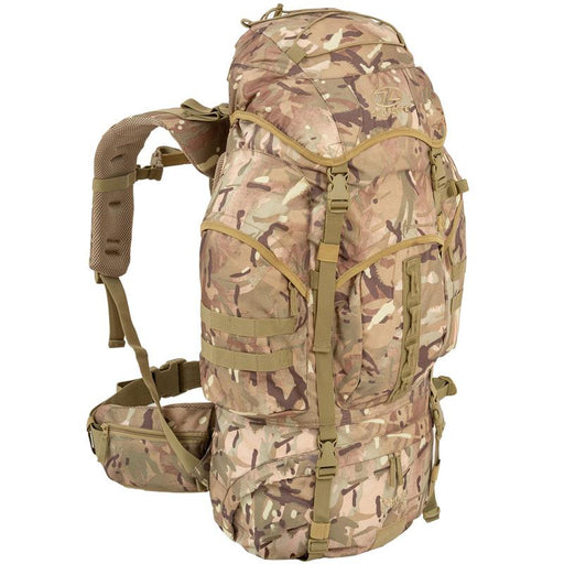 Highlander Outdoor Vandrerygsæk Multicam - 66 liter - Forces