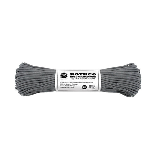 Paracord 550 Type III - Charcoal grey
