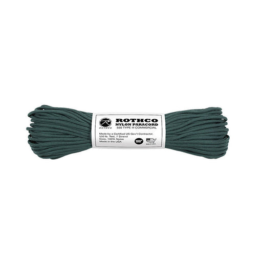 Paracord 550 Type III - Hunter Green