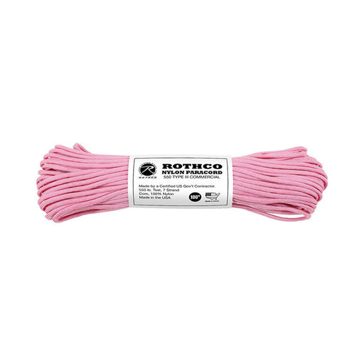 Paracord 550 Type III - Rose Pink