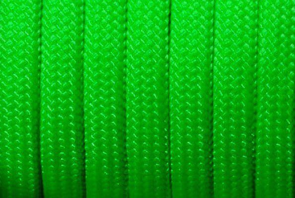 Paracord 550 - Neon Green - Type III