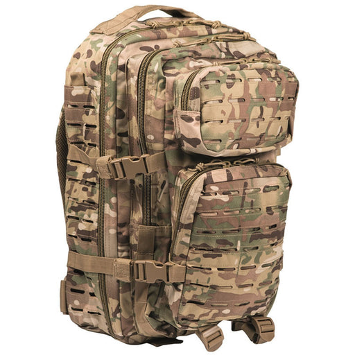 Rygsæk US Assault - Multicam - Large - 36 liter - Laser Cut