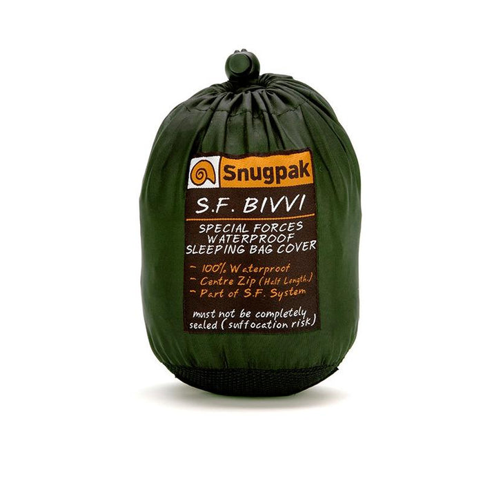 Snugpak Special Forces Bivvi Bag - bivuak pose