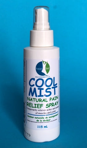 Happi-Feet Cool Mist Spray 115mL