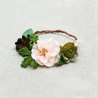How to Make a Rustic Flower Crown Video