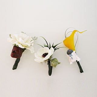 How to Make a Boutonniere - Character Wedding
