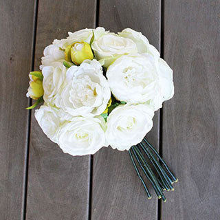 How To Make A Silk Flower Bouquet With A Bouquet Holder Video Afloral Com