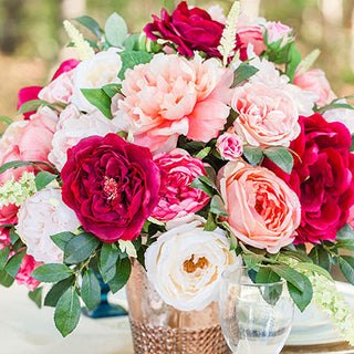 Diy wedding flowers decorating ideas from afloral tagged get the look pink silk flower arrangement for wedding centerpieces junglespirit