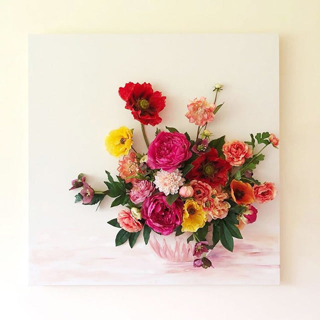 Get The Look: Nursery Flower Wall Art