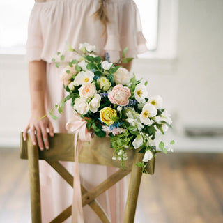 Get The Look: Organic Wedding with Artificial Flowers