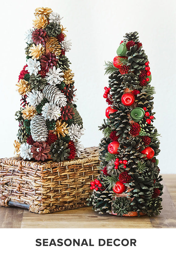 Seasonal Decorations Like Tabletop Trees