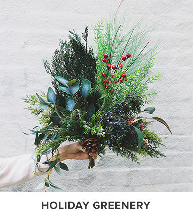 Christmas Greenery | Artificial Pine and Cedar | Holiday Greenery