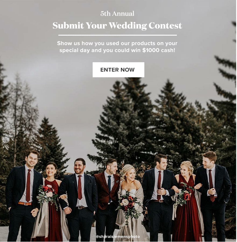 Afloral's 5th Annual Submit Your Wedding Photo Contest