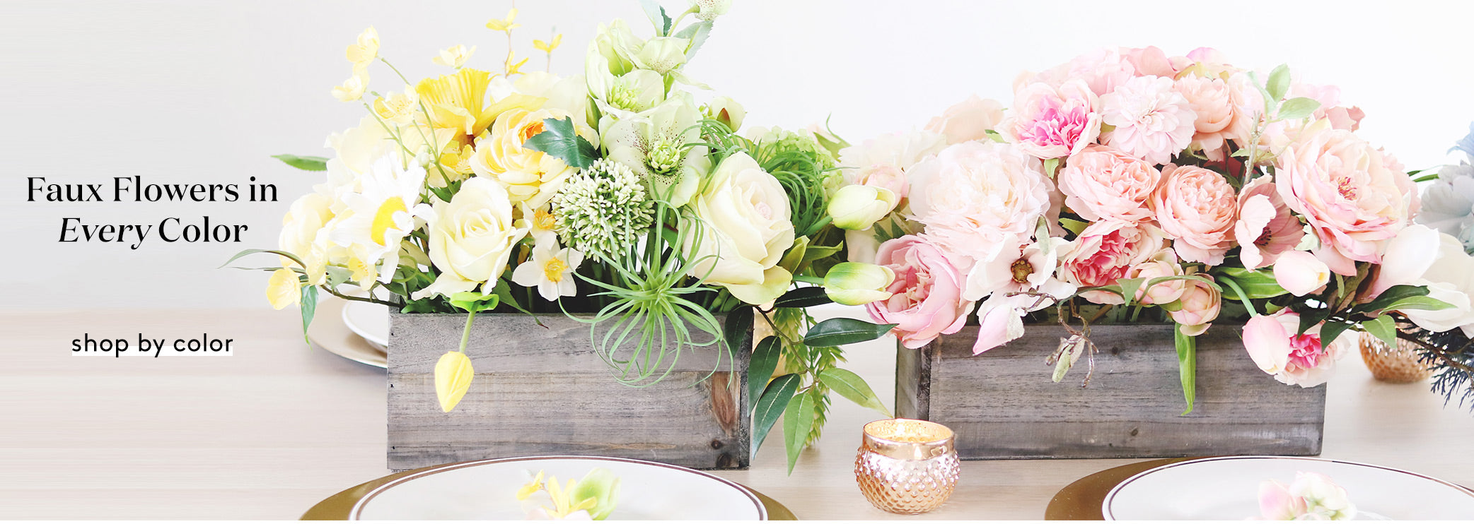 Artificial Flowers in Every Color | Fake Flowers by Color