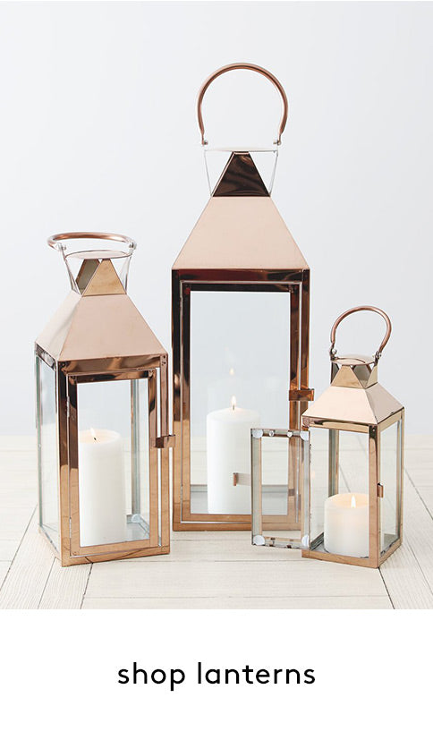 Lanterns, Candles, and Event Lighting