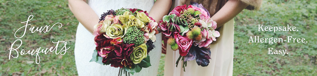 Silk Wedding Bouquets