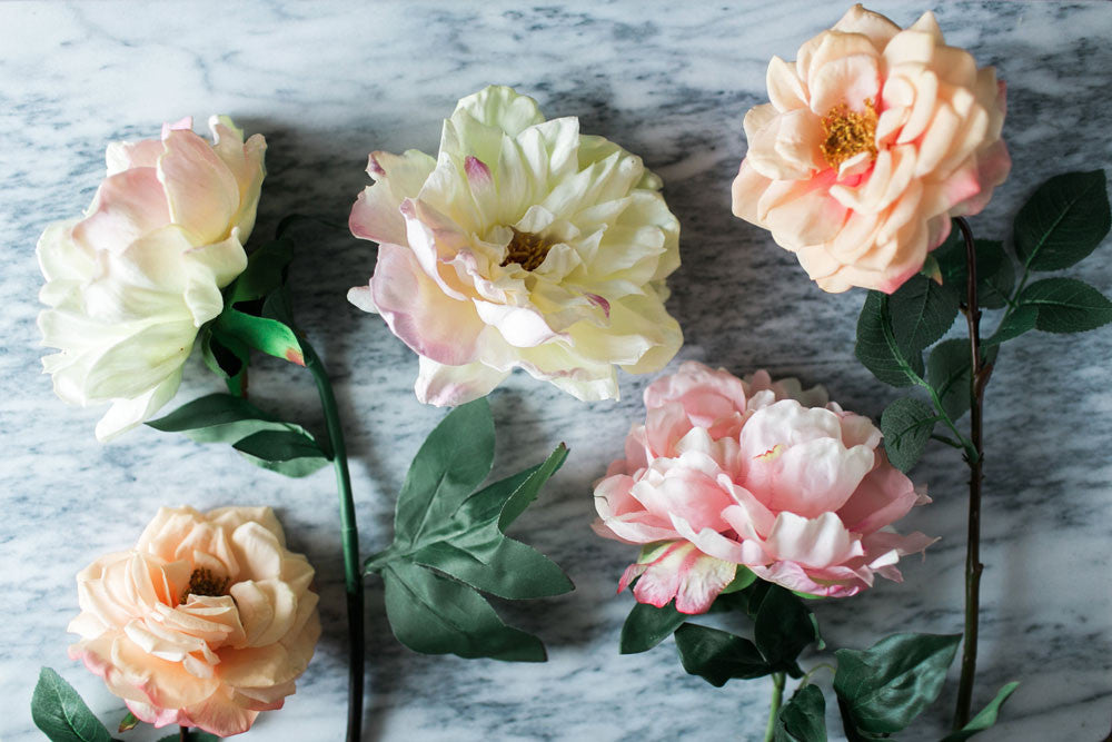 How To Make A Faux Flower Arrangement