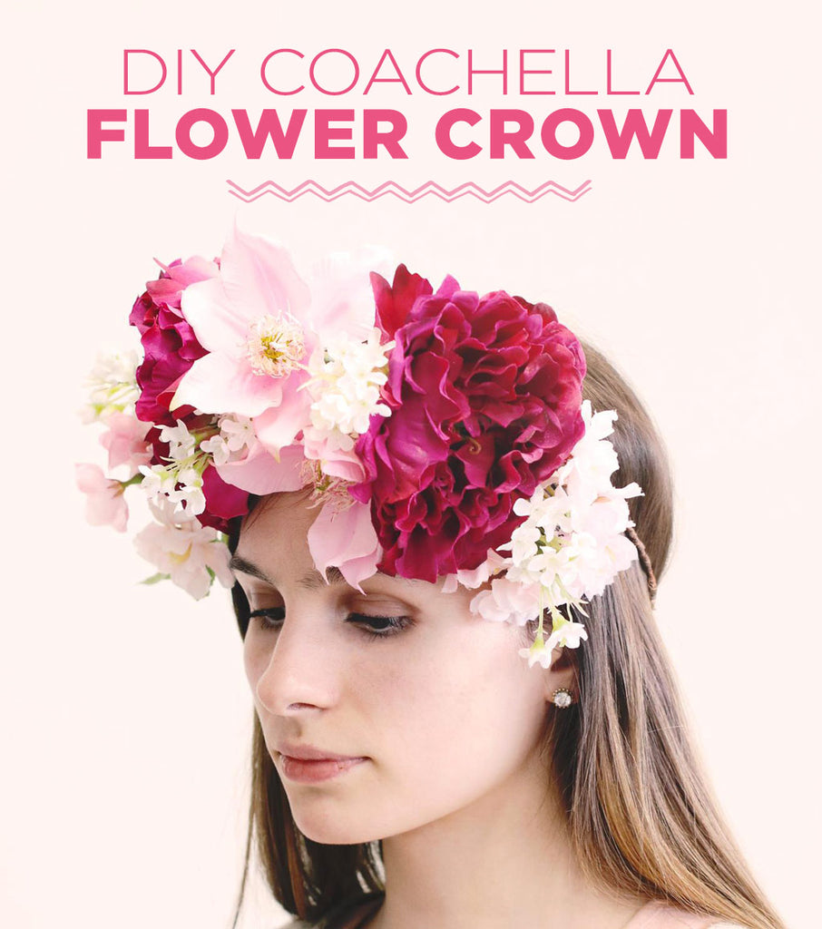 Diy Coachella Flower Crown Diy Flower Crown Diy Floral